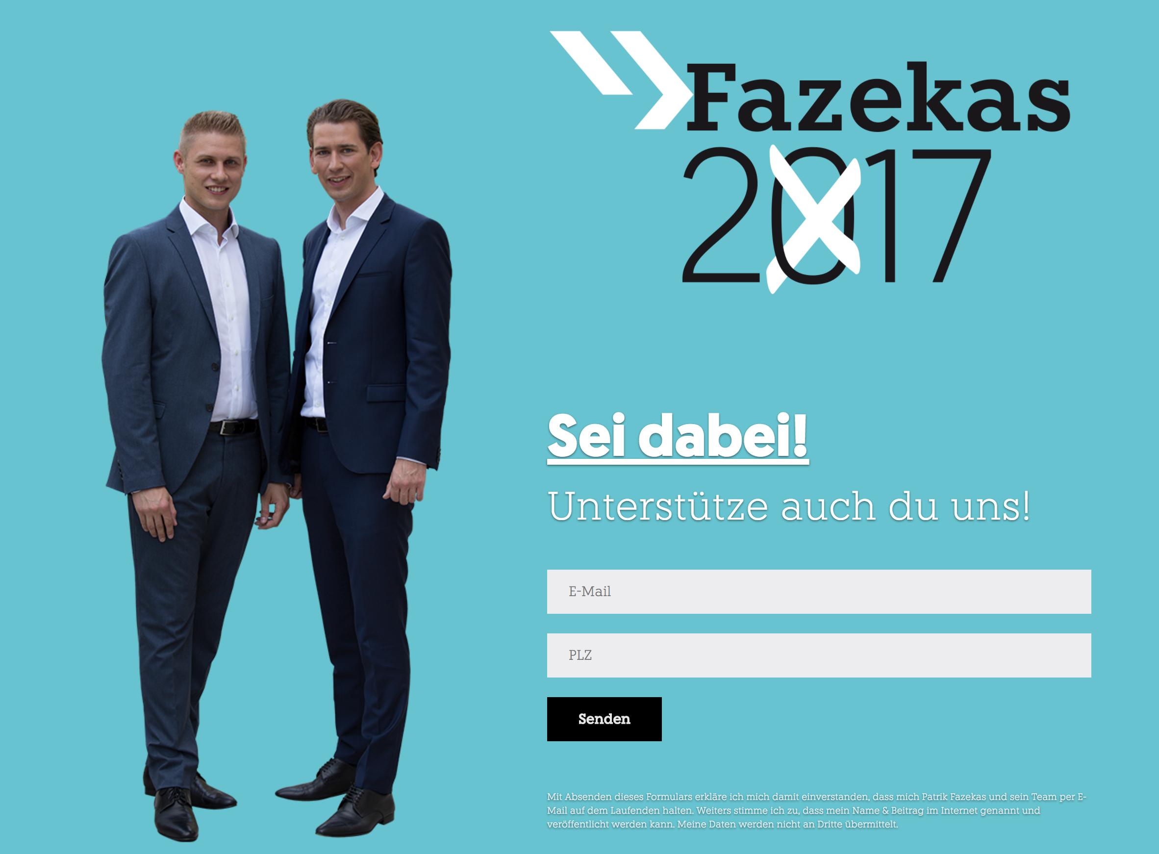 Fazekas Landingpage